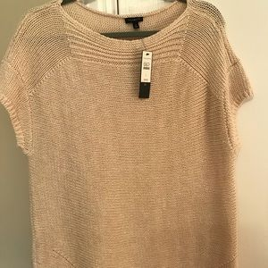 Talbots cap sleeve sweater L